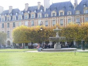 Place des Vosges- Le Marais