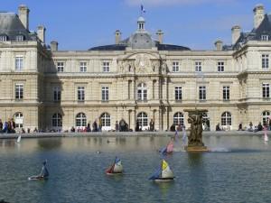 Le Sénat- jardin du Luxembourg